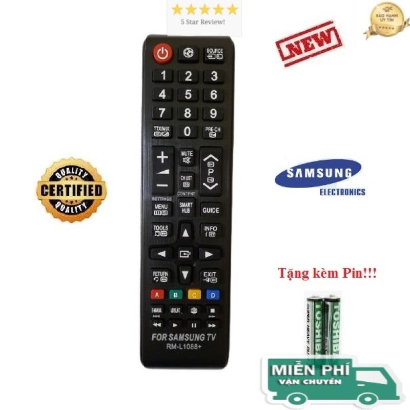 Điều khiển tivi Samsung các dòng Tivi Samsung UA32 UA40 UA43 UA 49 UA50 UA55 UA65 4K Smart QLED- Hàng tốt- ALEX - TẶNG KÈM PIN chính hãng