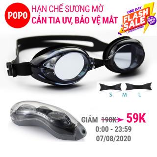 Kính bơi người lớn kính bơi nam, nữ POPO 1153 mắt kính bơi chống tia UV, hạn chế sương mờ Trong Bộ sư tập mắt kiếng bơi thi đấu chuyên nghiệp 2021 thumbnail