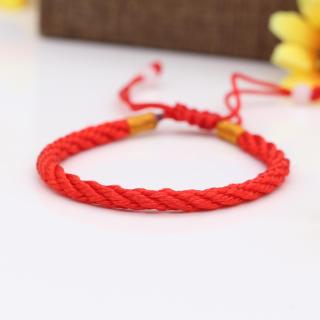 Vòng Tay Chỉ Đỏ May Mắn - Lắc Chỉ Đỏ Bình An XBV29 Bảo Ngọc Jewelryx thumbnail