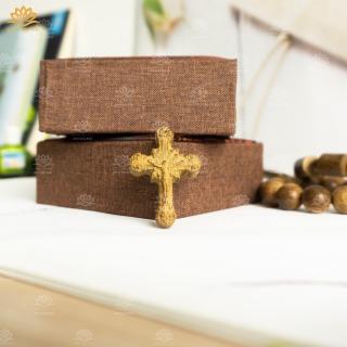 [HCM]Thánh Giá (Tượng Chúa) Đeo Cổ Trầm Hương Tự Nhiên thumbnail