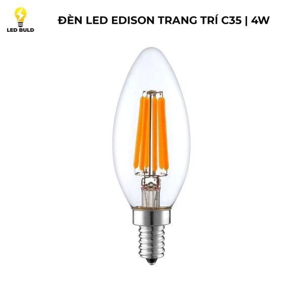 Bóng đèn LED Edison C35 4w E27 2700k