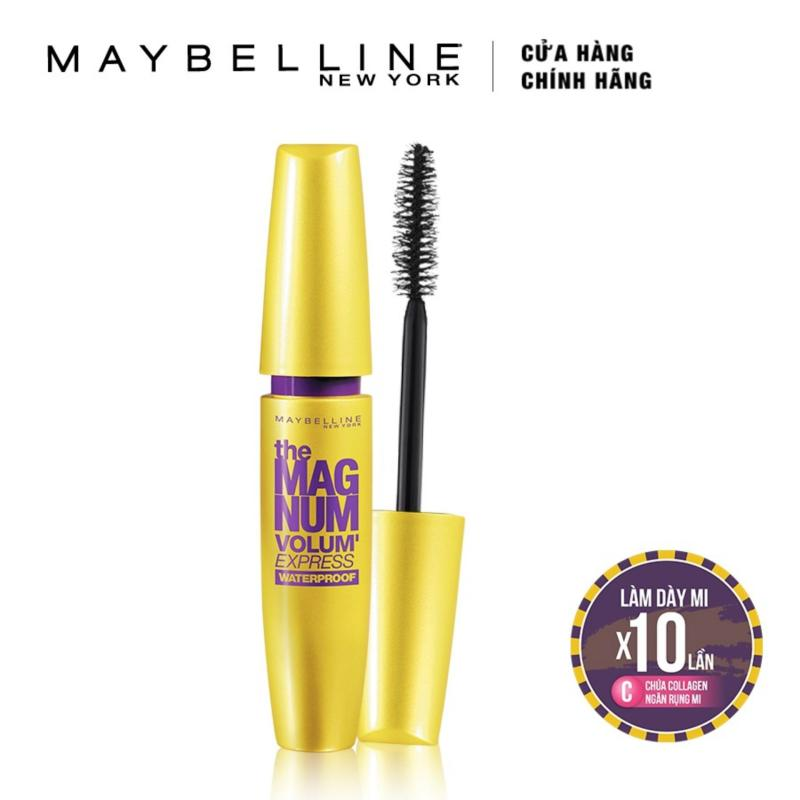 Mascara Maybelline New York New York làm dày mi Magnum Volum Express 9.2ml nhập khẩu
