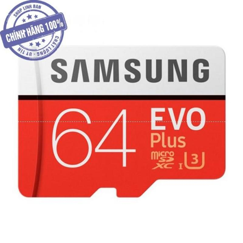 Thẻ nhớ micro SD samsung Evo plus 64GB 100Mb/s (new version)
