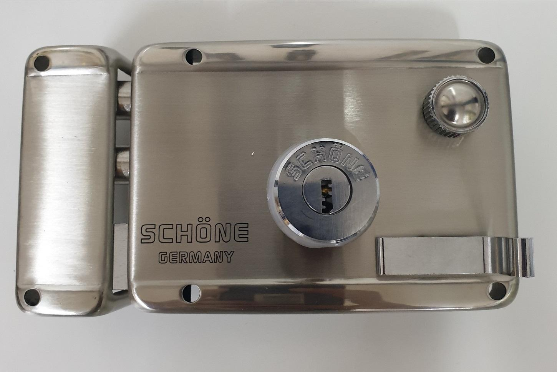 KHOÁ CỬA CỔNG INOX - SCHONE-1663B.