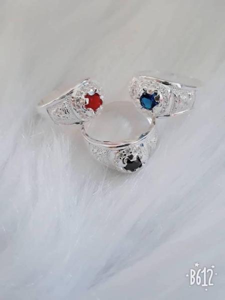 Giá bán Nhẫn bạc cao cấp Đính đá cho Bé trai cực đẹp - san san house