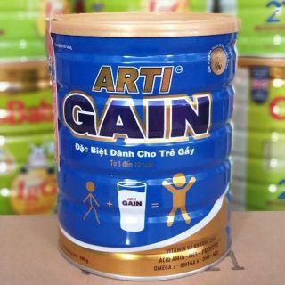 Sữa Arti Gain Xanh 3-10 tuổi - Tăng cân hiệu quả cho trẻ gầy - NPP chính hãng thumbnail