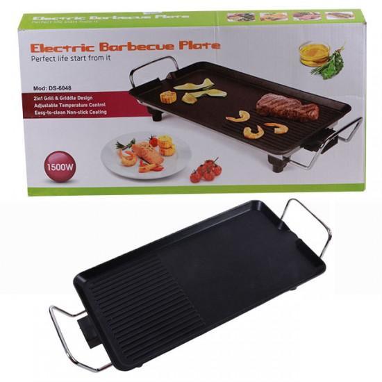 Vỉ Nướng Điện Electric Barbecue Plate 1500W, 5 mức điều chỉnh nhiệt, KT bếp 48x28cm, bảo hành 12 tháng – YANME SHOP