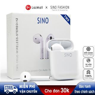 Tai nghe Bluetooth SINO I12 TWS 5.0 không dây Tai nghe không dây kiểu dáng hiện đại, thời thượng - Hàng nhập khẩu TAII12 thumbnail