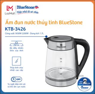 Ấm Đun Nước Thủy Tinh BlueStone KTB-3426 (1.7 Lít) -Bảo hành 2 năm - Hàng Chính Hãng thumbnail