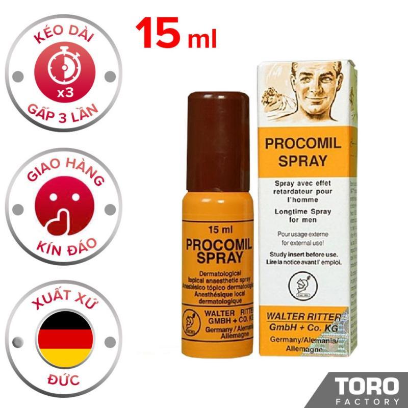 Tinh Chất Procomil hỗ trợ phái mạnh xịt trị xuất tinh sớm