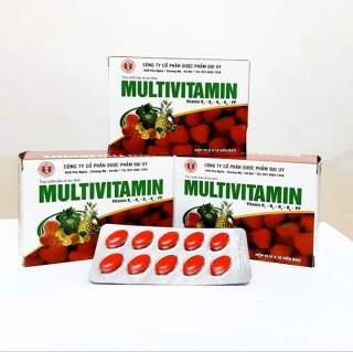 viên uống Multivitamin - Giúp bổ sung Vitamin B1, B2, B5,B6,PP, tăng cường sức khỏe, tăng cường hấp thu, hồi phục cơ thể- hộp 100 viên 3