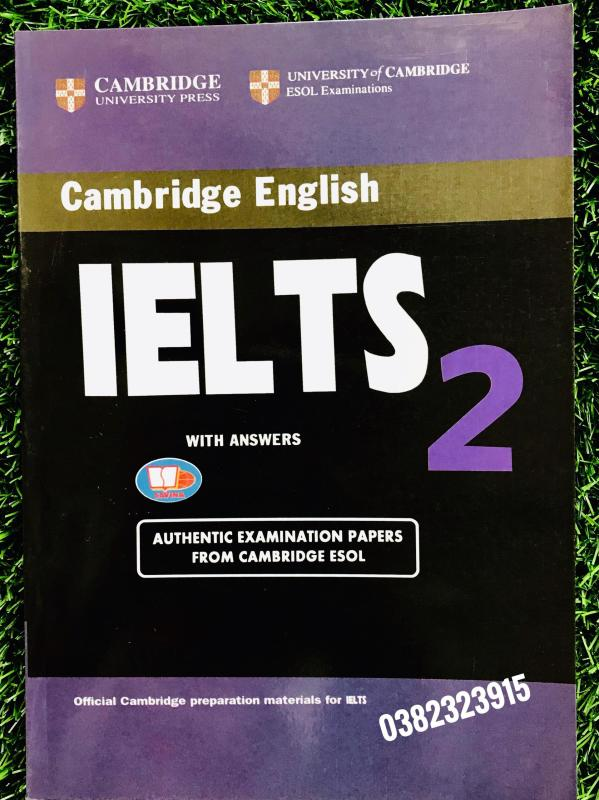 Sách Cambridge English IELTS 2 with answer