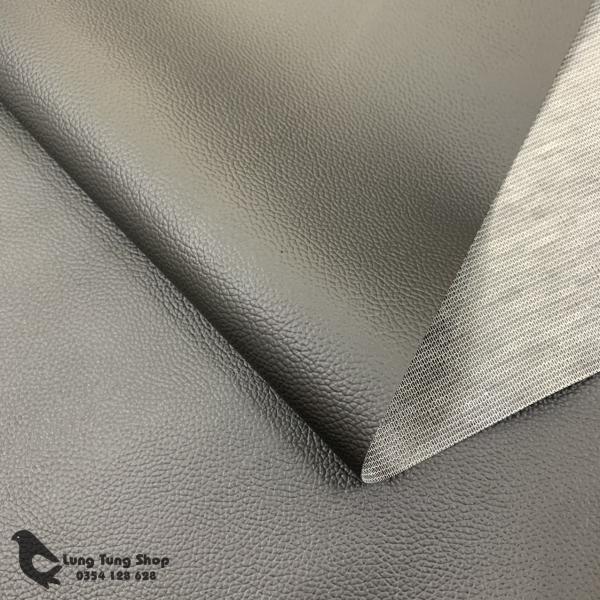 Vải da simili - Vải giả da màu đen khổ 1,4m ( HÌNH ẢNH SHOP TỰ CHỤP )