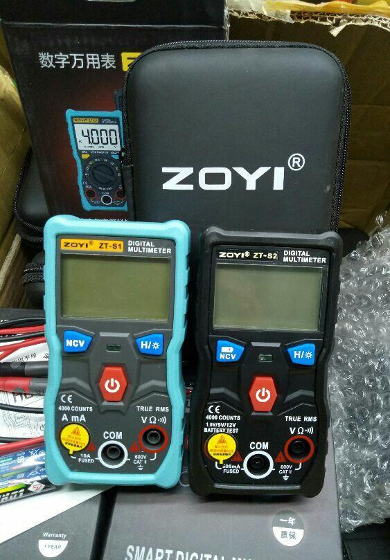 Đồng hồ đo điện tự động zoyi zt s1