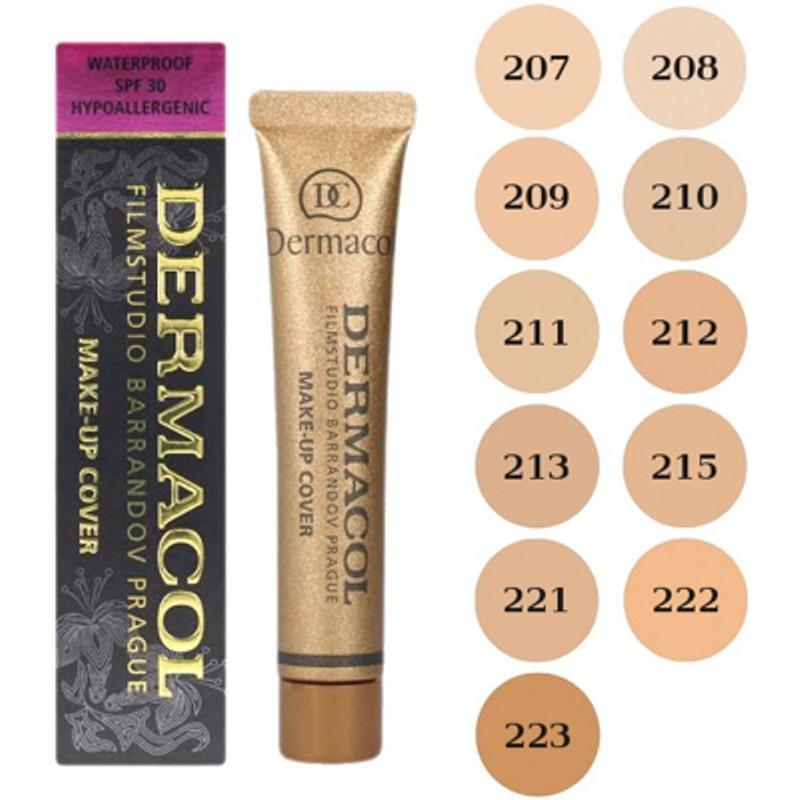 Kem Nền Che Khuyết Điểm  Che Hình Xăm Dermacol Make-up Cover nhập khẩu