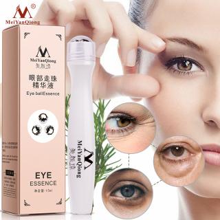 MeiYanQiong Kem bôi mắt thiết kế đầu kim loại tròn giúp chống bọng mắt loại bỏ nếp nhăn chăm sóc quầng thâm mắt, tinh chất dưỡng ẩm - INTL thumbnail