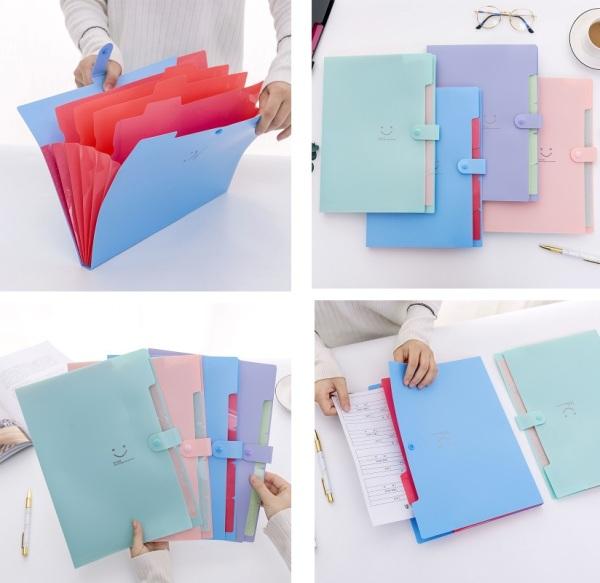 Mua Túi đựng giấy A4 hình mặt cười 32.5x14cm