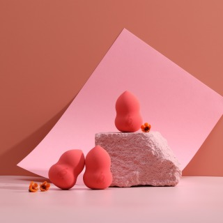 Berlala Beauty Mút trang điểm dùng tán kem nền BLL01 - Watermelon Color 2