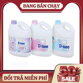 Nước giặt quần áo em bé Dnee 3000ml (Chính hãng có tem Đại Thịnh) thumbnail