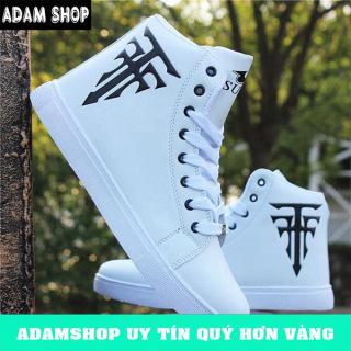 Freeship, Giày thể thao nam trắng,giày sneaker nam cao cấp (hot trend) mã CCH thumbnail