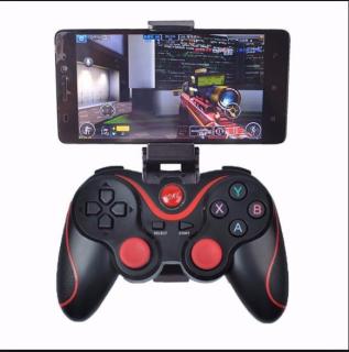 Tay cầm gamer hỗ trợ chơi game bluetooth X3 - Tay cầm chơi gane pubg lien quân ff cho tivi box giá rẻ - Tay game psp xbox - Tay cầm gamepad X3 T3 thumbnail