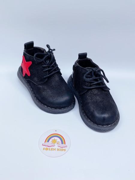 Giá bán ( ảnh thật ) Giày boots nam nữ ngôi sao cho bé