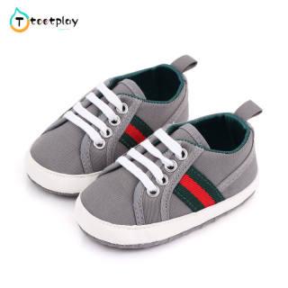 Tootplay 1 Đôi Giày Em Bé, Giày Trẻ Tập Đi Đế Mềm Nhiều Màu Thoáng Khí Chống Trượt