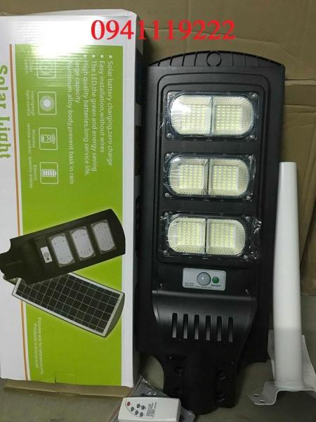 Đèn đường năng lượng mặt trời 150w. Đèn chiếu sáng sử dụng năng lượng mặt trời, phát hiện chuyển động, tấm Pin năng lượng mặt trời siêu bền,hấp thụ năng lượng mặt tốt.