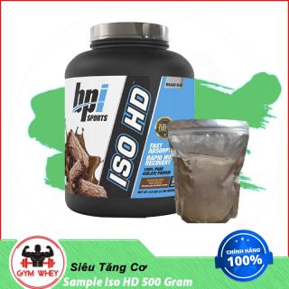 Gói Dùng Thử Sữa Dinh Dưỡng Hỗ Trợ Tăng Cân BPI Whey Iso HD 500gram thumbnail