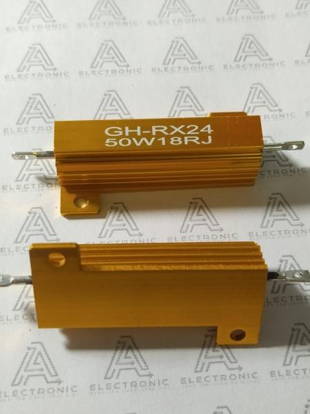 Giá bán Điện trở nhôm RX24 18R 50W RK-91