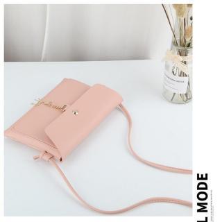 Túi đeo chéo nữ kèm khóa hưu vàng may mắn kiểu ngang 2 ngăn phong cách Hàn Quốc cực xinh BHQ15 thumbnail