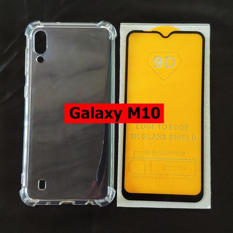 Giá Bộ ốp lưng chống sốc kính cường lực full màn hình Galaxy M10