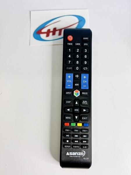 Bảng giá Remote Tivi Asanzo 3D dài (có mạng) – XLL21