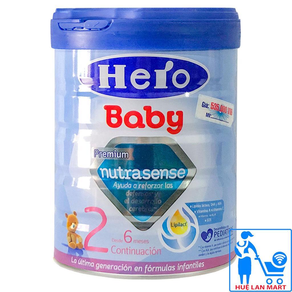 Sữa bột Friso Hero Baby 2 - hộp giấy 800g (dành cho trẻ từ 6-10 tháng)