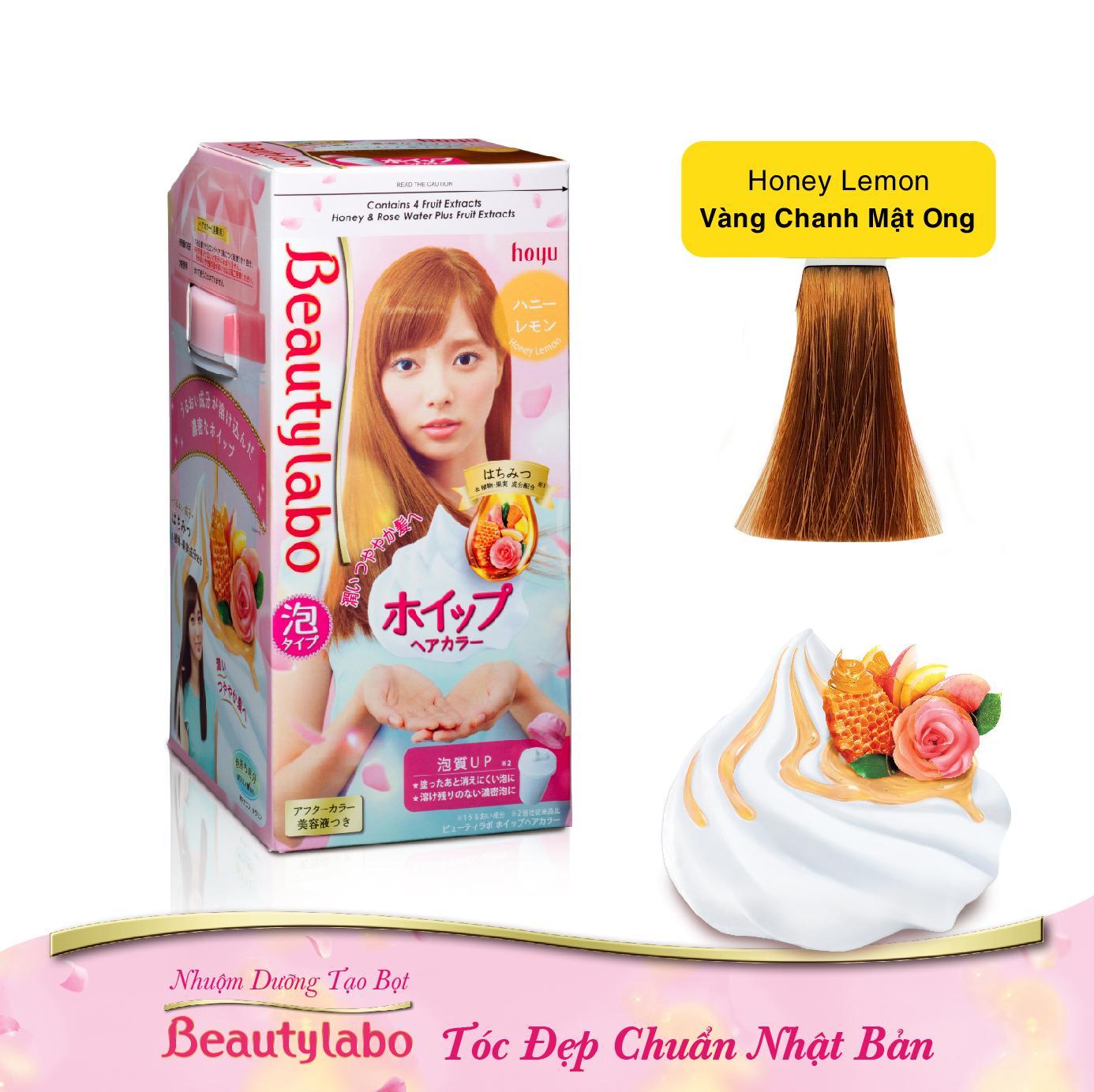 Nhuộm Dưỡng Tạo Bọt Beautylabo 125ml - Tóc Đẹp Chuẩn Nhật Bản