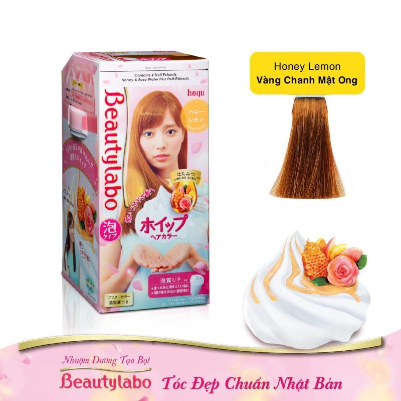 Nhuộm Dưỡng Tạo Bọt Beautylabo 125ml - Tóc Đẹp Chuẩn Nhật Bản cao cấp