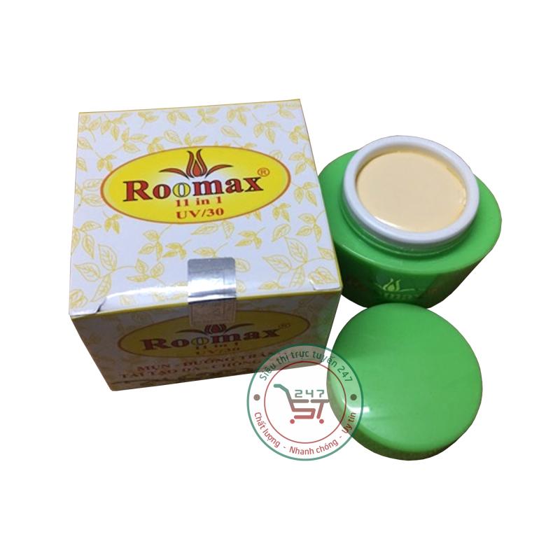 Kem Mụn, siêu dưỡng trắng, tái tạo da nhanh, Chống nhờn hiệu quả 11in1 Roomax (Trắng-Vàng) giá rẻ