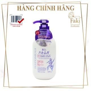Sữa Dưỡng Thể Trắng Da Lotion Chống Nắng Hatomugi 250Ml - Lotion Hatomugi Spf 30 Moisturiser &Care thumbnail