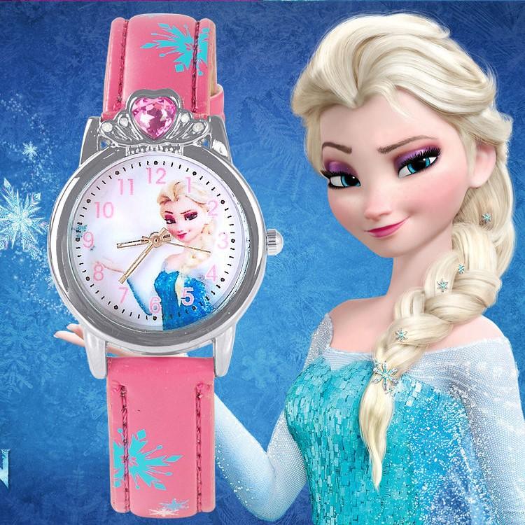 Đồng hồ công chúa cho bé gái