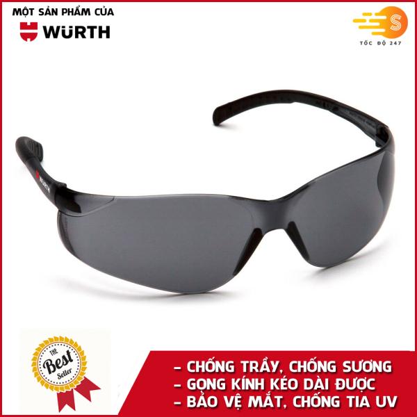 Kính bảo hộ mắt chống bụi và chống tia UV Wurth WU-KBH