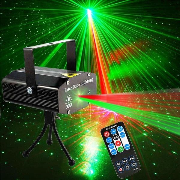 Đèn Laser Sân Khấu Vũ Trường DJ, Máy Chiếu Led Bầu Trời Đầy Sao Đèn Tiệc Chiếu Sáng Sân Khấu Với Điều Khiển Từ Xa, Dành Cho Tiệc Vũ Trường Câu Lạc Bộ KTV Giáng Sinh