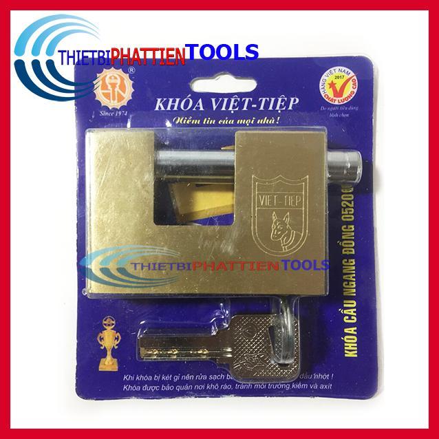 Ổ Khóa Cầu Ngang Việt Tiệp 05206 Chống Trộm (Hàng Chất Lượng Cao)