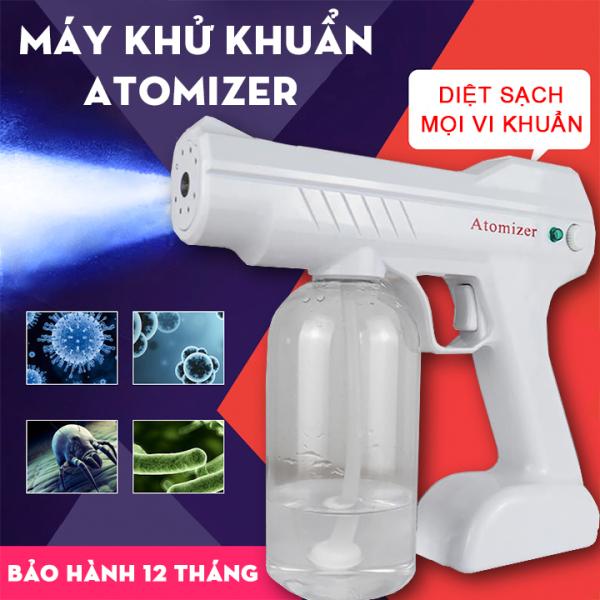 [ BẢO HÀNH CHÍNH HÃNG 12 THÁNG ] Máy Phun Khử Khuẩn NANO Cầm Tay Atomizer Siêu Hot - Máy tiệt trùng diệt khuẩn bằng tia UV - Máy xịt dung dịch cho spa - Máy xịt tạo kiểu tóc -Dung Tích Bình Chứa Đến 800 ML