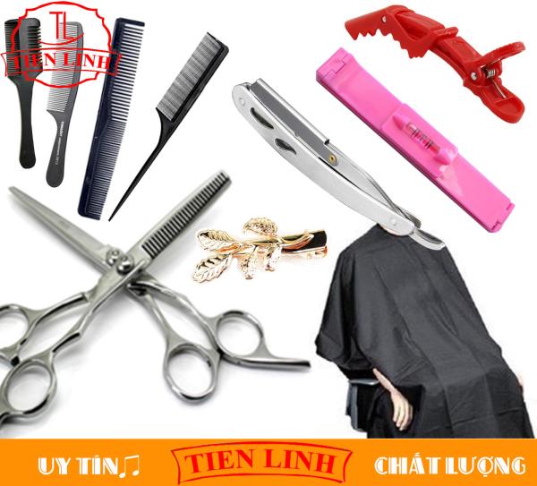 Bộ đồ nghề cắt tóc FULL dụng cụ TL56 tiện dụng