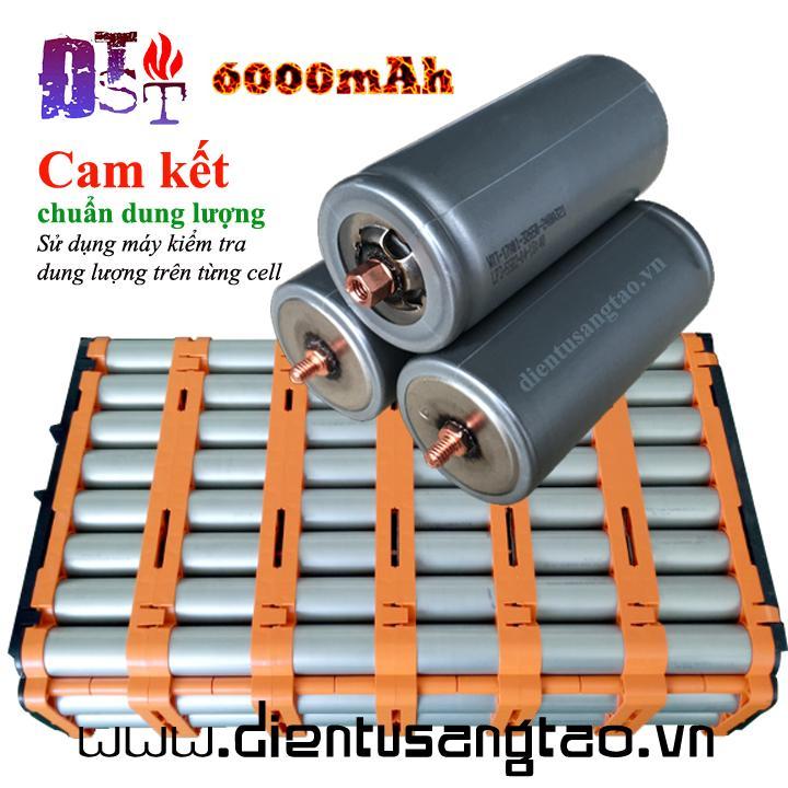 Pin Lithium Iron Phosphate 32650 3.2V 6000mAh đầu Vít Khuyến Mãi Sốc