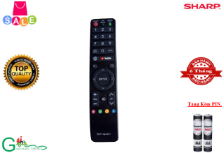 Remote Điều khiển từ xa tivi Smart TV Sharp-Hàng chất lượng tốt,mới 100%-Tặng kèm PIN thumbnail