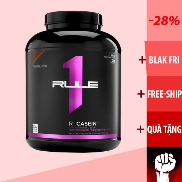 Casein   Rule 1 Casein - Tăng Cơ Ban Đêm 4Lbs 55 Lần Dùng - Chính Hãng - Muscle Fitness