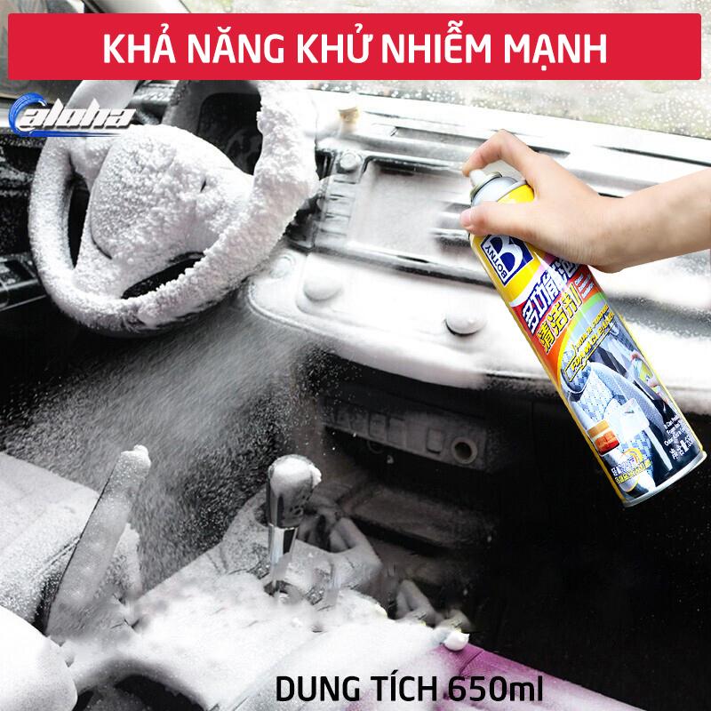 [Làm sạch cực nhanh] Dung dịch làm sạch đa năng BOTNY, bình xịt làm sạch nội thất, da ghế, táp lô xe hơi, ô tô, xe tải B-1831