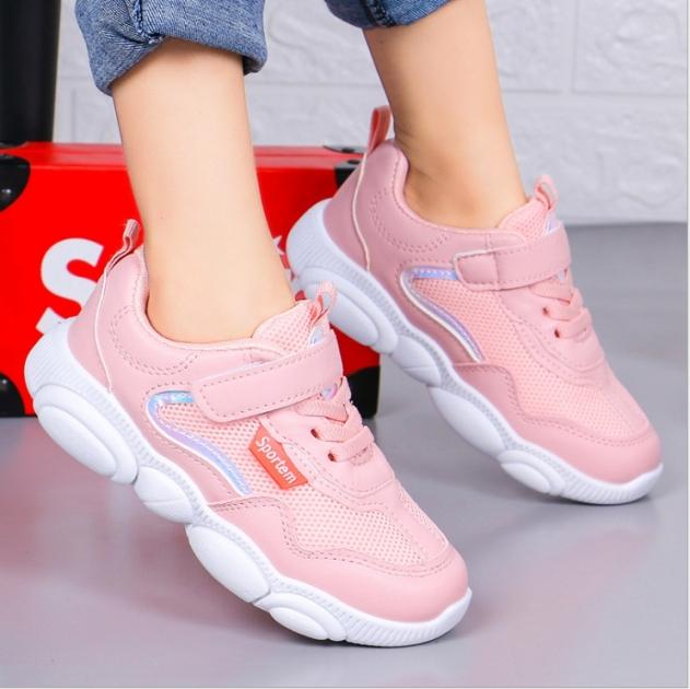 Giày thể thao bé gái dạng lưới, êm chân thoáng mát  Phong Cách Hàn Quốc cho bé từ 3 đến 14 tuổi TT2 giá rẻ