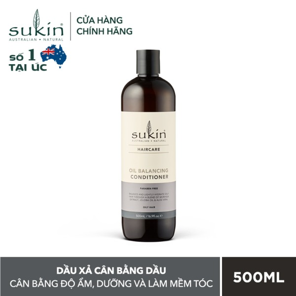 Dầu Xả Cân Bằng Dầu Sukin Oil Balancing Conditioner 500ml cao cấp